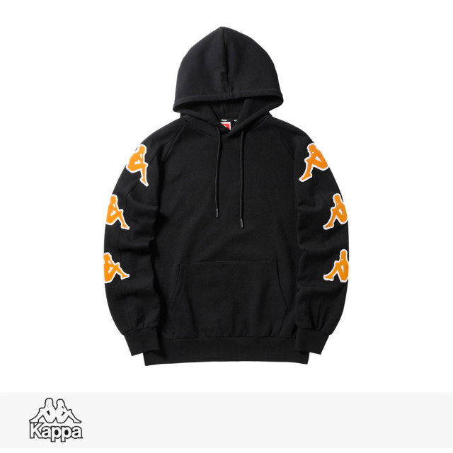 2018 F/W KAPPA BIG BANDA COLLECTION PULLOVER HOODIE | BLACK / カッパ パーカー