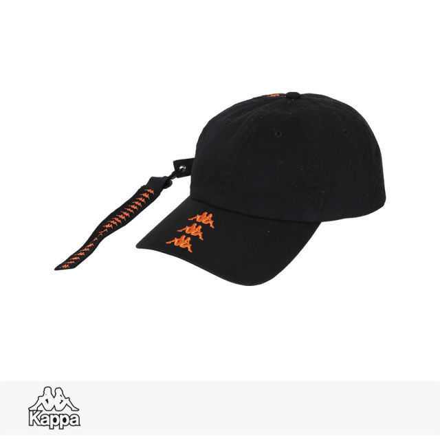 KAPPA BANDA COLLECTION CAP | BLACK / カッパ キャップ