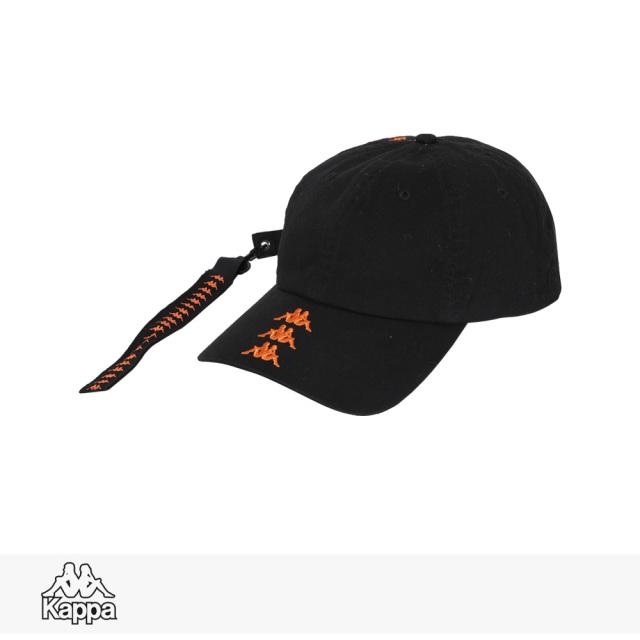 KAPPA BANDA COLLECTION CAP | BLACK / カッパ キャップ