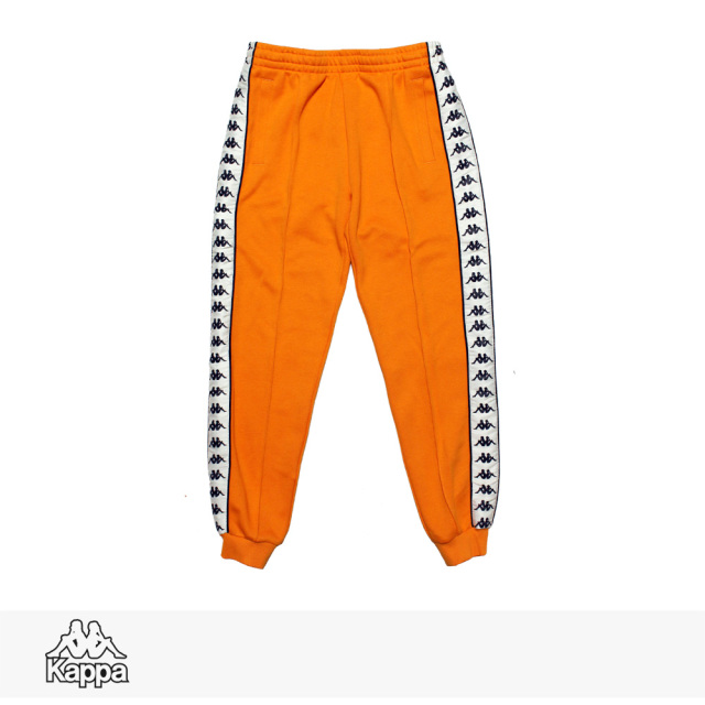 KAPPA BANDA COLLECTION KNIT LONG PANTS | ORANGE / カッパ パンツ