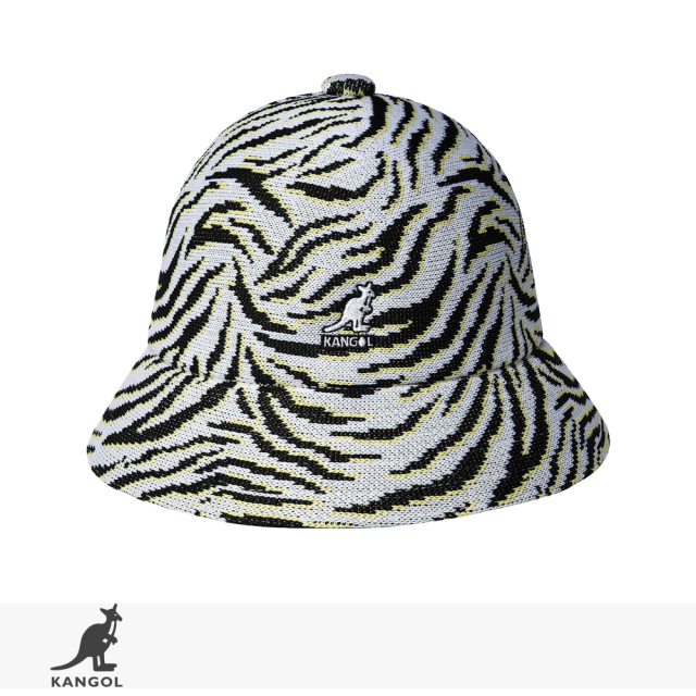 2021 S/S KANGOL Carnival Casual | WHITE ZEBRA / カンゴール ハット