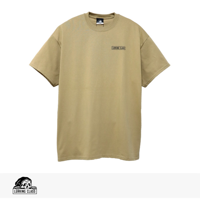 2020 SUMMER LURKING CLASS HILLS TEE | TAN / ラーキングクラス Tシャツ