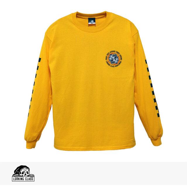 LURKING CLASS KARMA 3 L/S TEE / ラーキングクラス Tシャツ