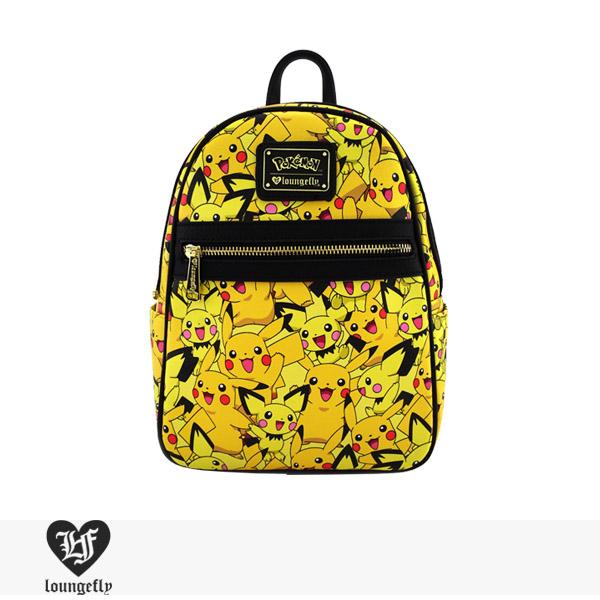 LOUNGEFLY × POKEMON PIKACHU PICHU PRINT MINI BACKPACK / ラウンジフライ バッグ