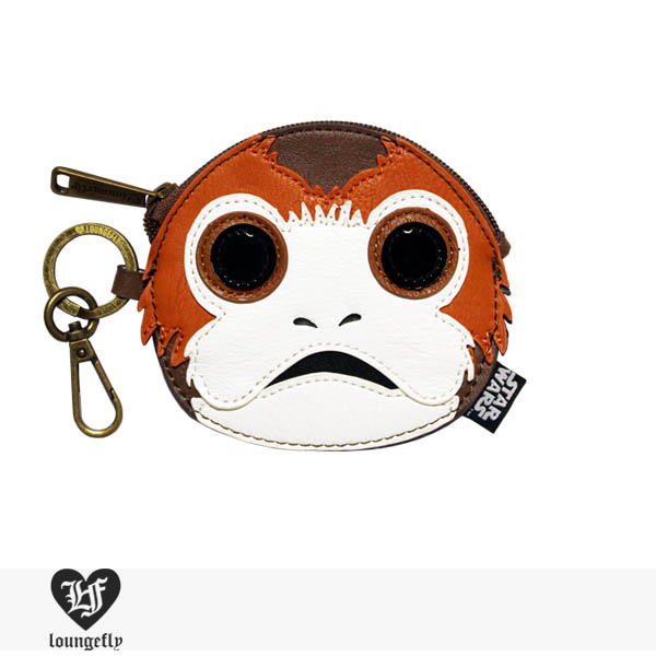 LOUNGEFLY × STAR WARS PORG FACE COIN BAG / ラウンジフライ コインケース