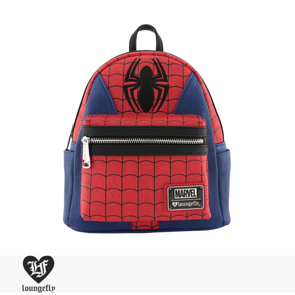 LOUNGEFLY × MARVEL SPIDER-MAN SUIT MINI FAUX LEATHER BACKPACK / ラウンジフライ バッグ