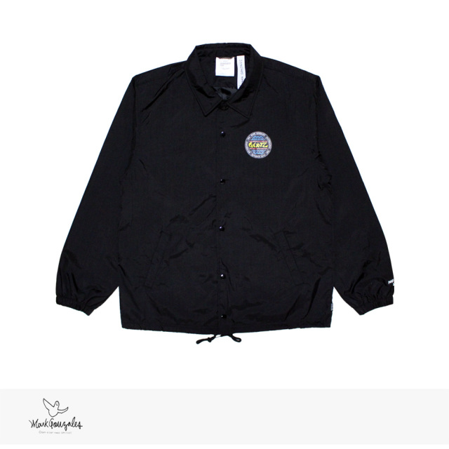 MARK GONZALES WASHER NYLON CONZ COACH JACKET | BLACK / マークゴンザレス ジャケット