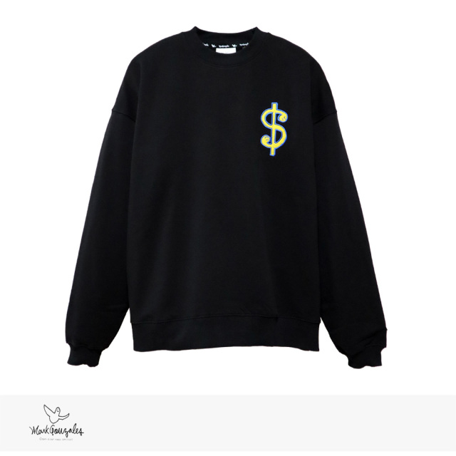 MARK GONZALES $ PATCH BIG CREW NECK SWEAT / マークゴンザレス スウェット