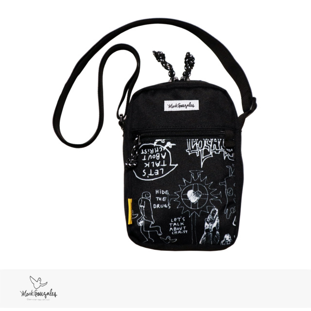 2020 F/W MARK GONZALES MINI SHOULDER BAG | WHITE / マークゴンザレス バッグ