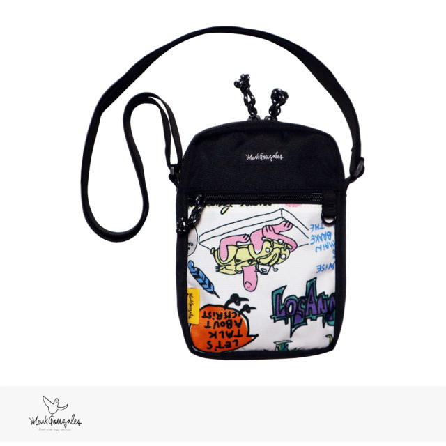 2020 F/W MARK GONZALES MINI SHOULDER BAG | BLACK / マークゴンザレス バッグ
