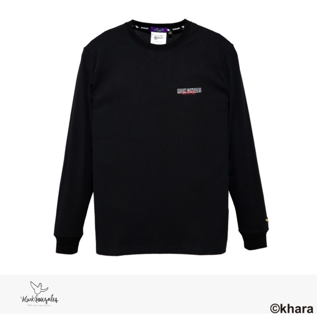 2020 F/W MARK GONZALES × EVANGELION 3rd IMPACT L/S TEE | BLACK / マークゴンザレス Tシャツ