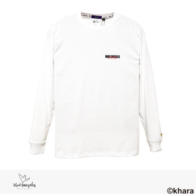 2020 F/W MARK GONZALES × EVANGELION 3rd IMPACT L/S TEE | WHITE / マークゴンザレス Tシャツ