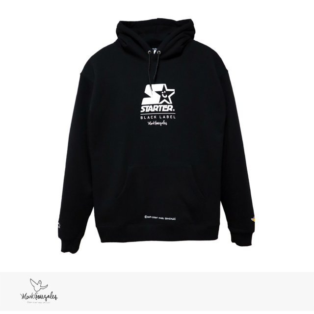 2020 F/W MARK GONZALES × STARTER BLACK LABEL LOGO PULLOVER HOODIE / マークゴンザレス パーカー