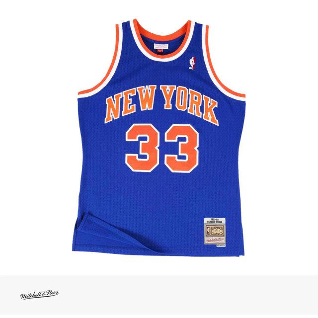 Mitchell & Ness SWINGMAN JERSEY PATRICK EWING 1991-92 NEW YORK KNICKS ROYAL / ミッチェルアンドネス ジャージ