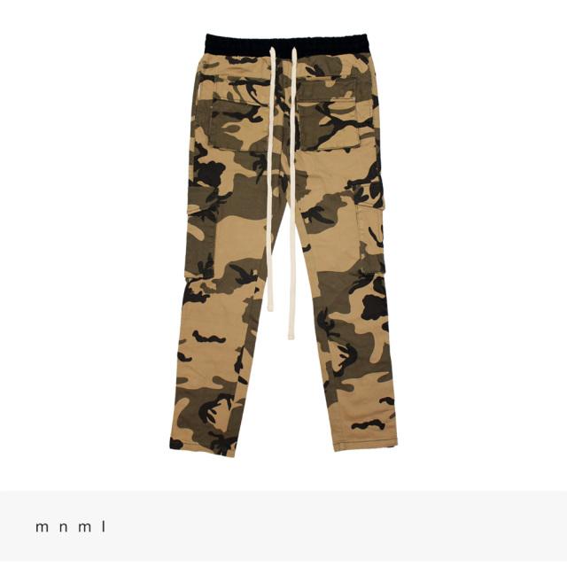 mnml SNAP CARGO PANTS | DESERT CAMO / ミニマル パンツ