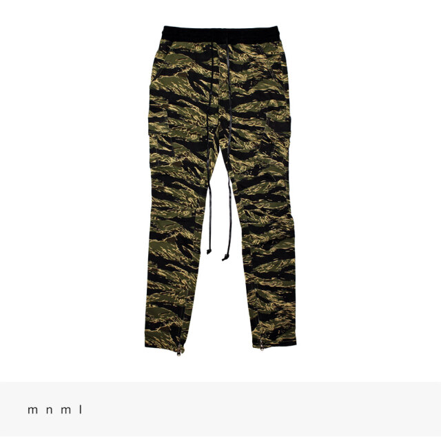 mnml CARGO DRAWCORD PANTS | TIGER CAMO / ミニマル パンツ