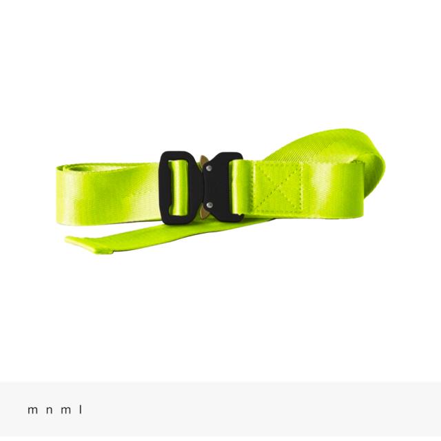 mnml WEB BELT | VOLT / ミニマル ベルト