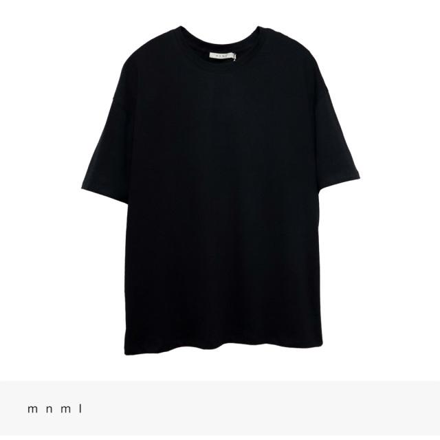 mnml EVERY DAY TEE | BLACK / ミニマル Tシャツ