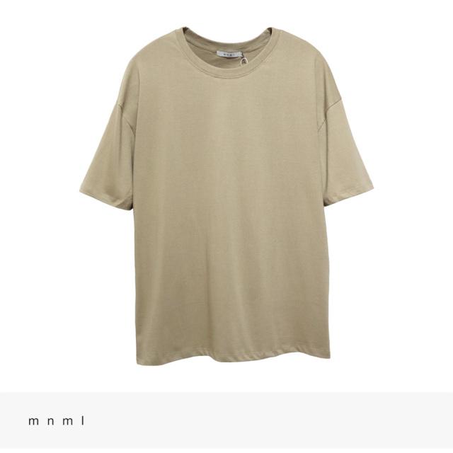 mnml EVERY DAY TEE | EARTH / ミニマル Tシャツ