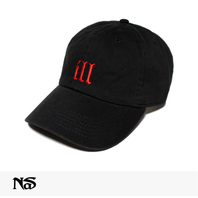 NAS OFFICIAL MERCHANDISE ILL CAP | BLACK / ナズ キャップ
