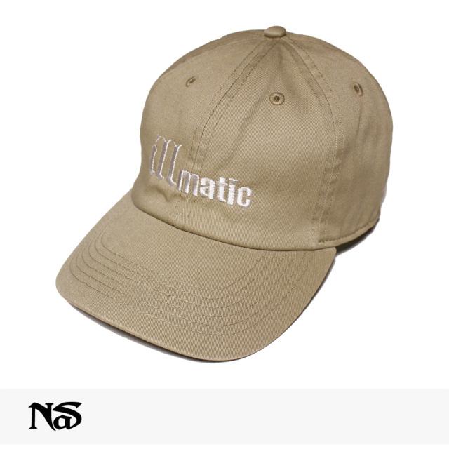 NAS OFFICIAL MERCHANDISE ILLMATIC CAP   BEIGE / ナズ キャップ