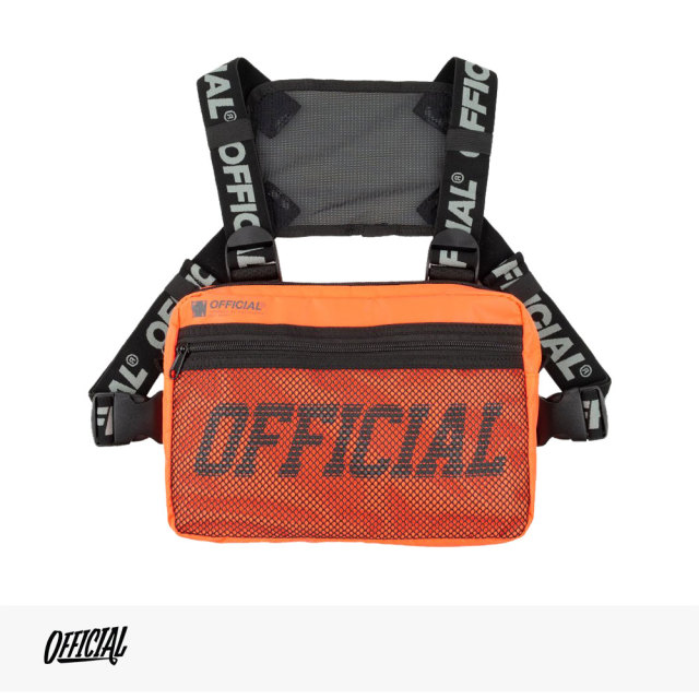 OFFICIAL MELROSE CHEST UTILITY BAG | ORANGE / オフィシャル バッグ