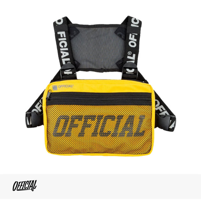 OFFICIAL MELROSE CHEST UTILITY BAG | YELLOW / オフィシャル バッグ