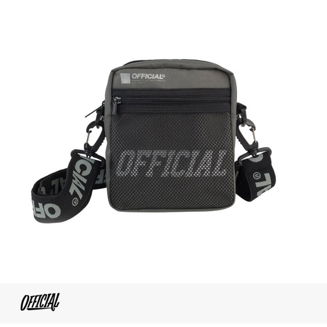OFFICIAL MELROSE HIP UTILITY BAG | GRAY / オフィシャル バッグ