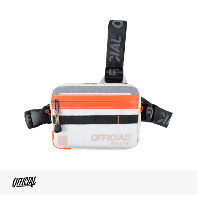 OFFICIAL VAPOUR TRI-STRAP CHEST UTILITY BAG | CLOUD WHITE / オフィシャル バッグ