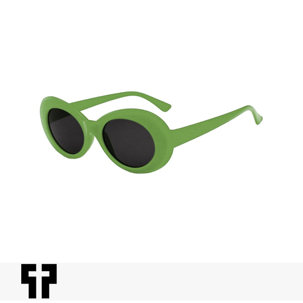 PETALS AND PEACOCKS NEVERMIND SUNGLASSES | OLIVE / ペタルズアンドピーコックス サングラス
