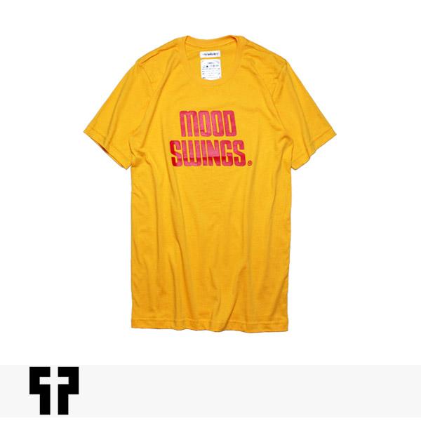PETALS AND PEACOCKS MOOD SWINGS RECORDS TEE / ペタルズアンドピーコックス Tシャツ