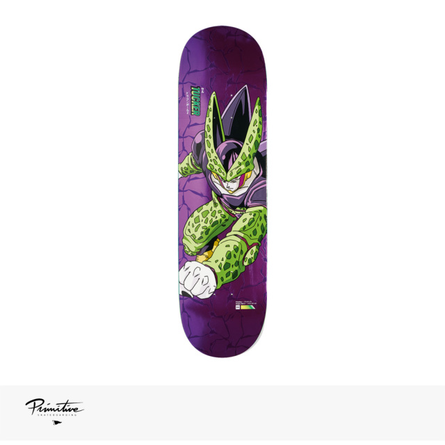 "PRIMITIVE × DRAGON BALL Z PERFECT CELL DECK NICK TUCKER | 8.0"" / プリミティブ デッキ"