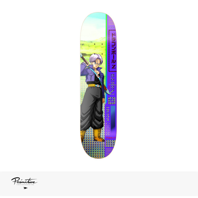 "PRIMITIVE × DRAGON BALL Z TRUNKS DECK DIEGO NAJERA | 8.0"" / プリミティブ デッキ"