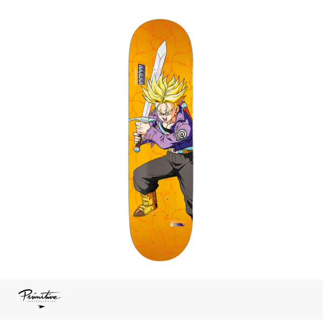 "PRIMITIVE × DRAGON BALL Z SUPER SAIYAN TRUNKS DECK DIEGO NAJERA | 8.125"" / プリミティブ デッキ"