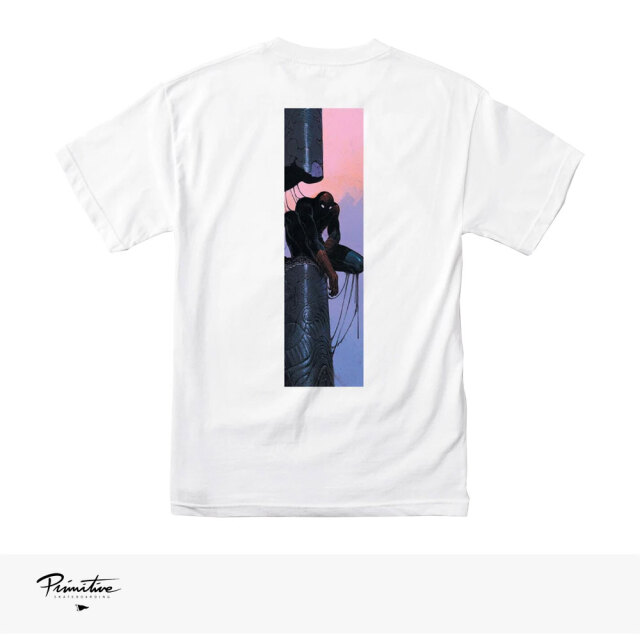 PRIMITIVE × MARVEL × MOEBIUS SPIDER MAN TEE / プリミティブ Tシャツ