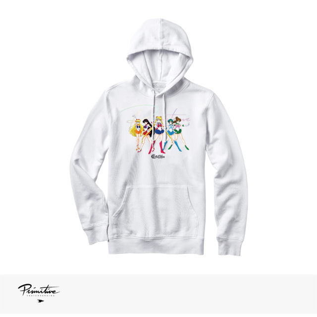 PRIMITIVE × SAILOR MOON GINZA SCOUTS HOOD / プリミティブ パーカー