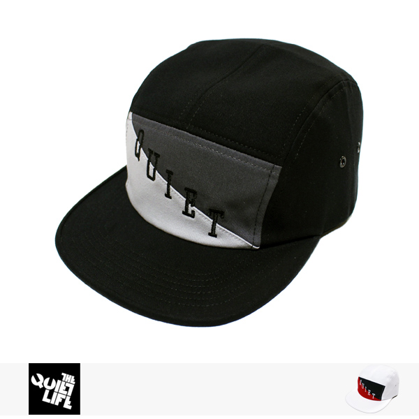 THE QUIET LIFE FLAG 5 PANEL CAMPER HAT / クワイエットライフ キャップ