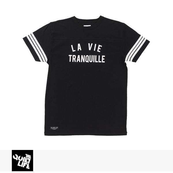 THE QUIET LIFE LA VIE TRANQUILLE VARSITY T / クワイエットライフ Tシャツ