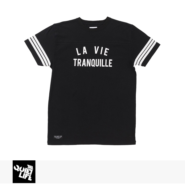 THE QUIET LIFE LA VIE TRANQUILLE VARSITY T / クワイエットライフ Tシャツ
