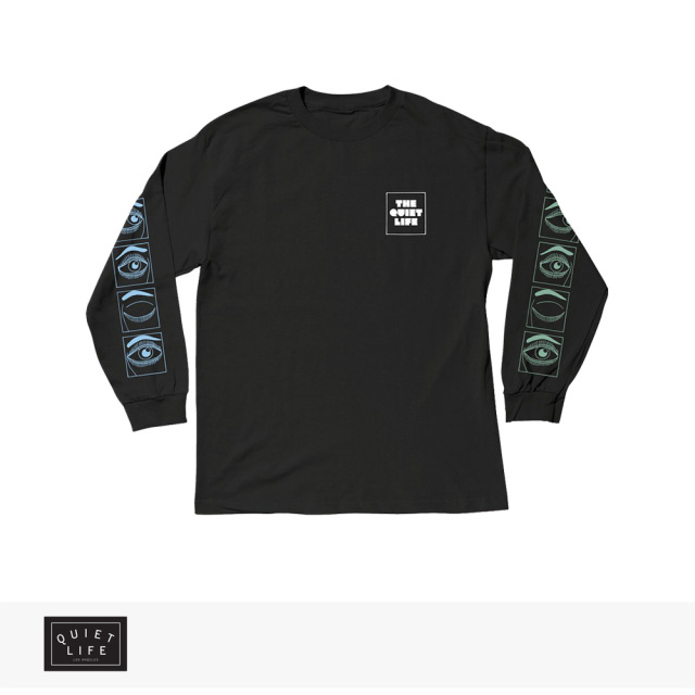 2019 SPRING THE QUIET LIFE BLINK LONG SLEEVE TEE | BLACK / クワイエットライフ Tシャツ