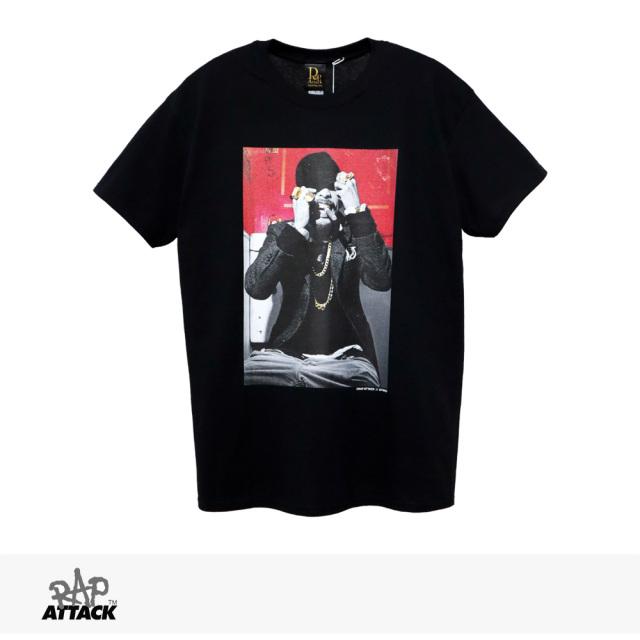 RAP ATTACK × TWIGY TOILET TEE | BLACK / ラップアタック Tシャツ