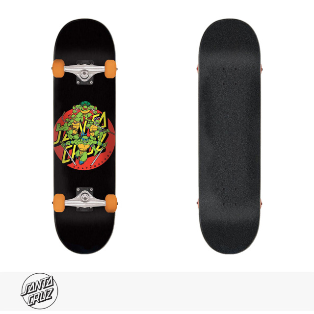 SANTA CRUZ × TMNT TURTLE POWER SKATEBOARD COMPLETE 7.75 × 31.4 / サンタクルーズ デッキ