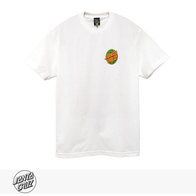 SANTA CRUZ × TMNT TURTLE POWER REGULAR TEE | WHITE / サンタクルーズ Tシャツ