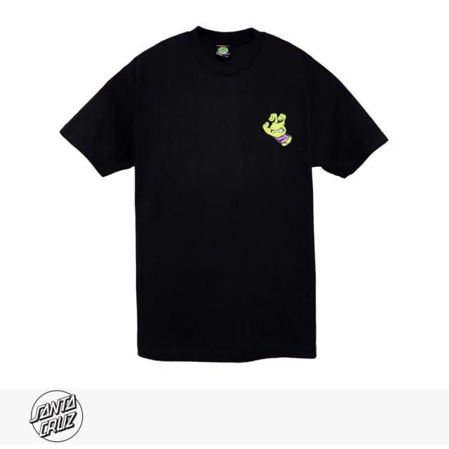 SANTA CRUZ × TMNT TURTLE HAND REGULAR TEE | BLACK | PURPLE / サンタクルーズ Tシャツ