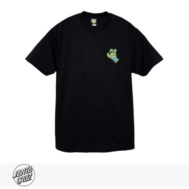 SANTA CRUZ × TMNT TURTLE HAND REGULAR TEE | BLACK | BLUE / サンタクルーズ Tシャツ