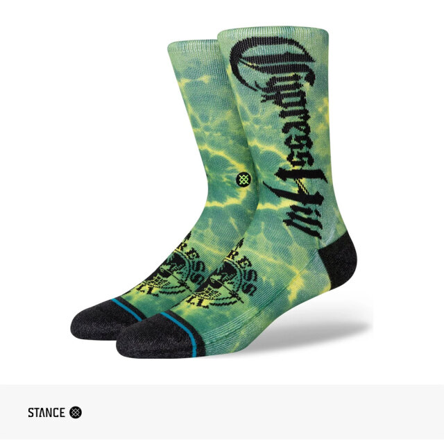 STANCE CYPRESS HILL INSANE IN THE BRAIN CREW SOCKS / スタンス ソックス