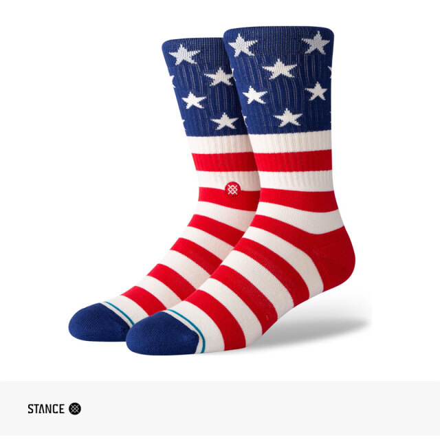 STANCE THE FOURTH ST CREW SOCKS / スタンス ソックス