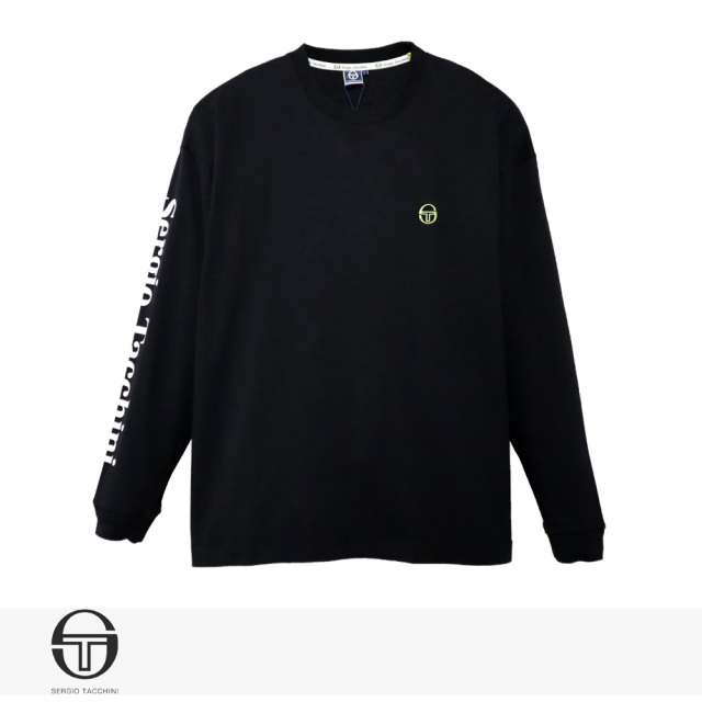 2019 F/W SERGIO TACCHINI BIG SILHOUETTE ST LOGO LONG T-SHIRT / セルジオタッキーニ Tシャツ