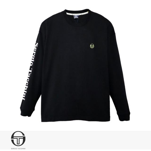 SERGIO TACCHINI BIG SILHOUETTE ST LOGO LONG T-SHIRT / セルジオタッキーニ Tシャツ