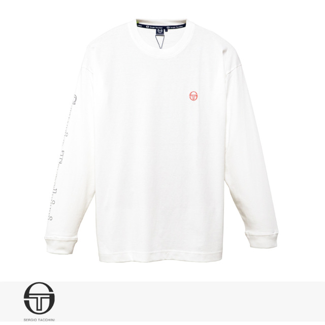 2020 S/S SERGIO TACCHINI ST LOGO LONG T-SHIRT | WHITE / セルジオタッキーニ Tシャツ